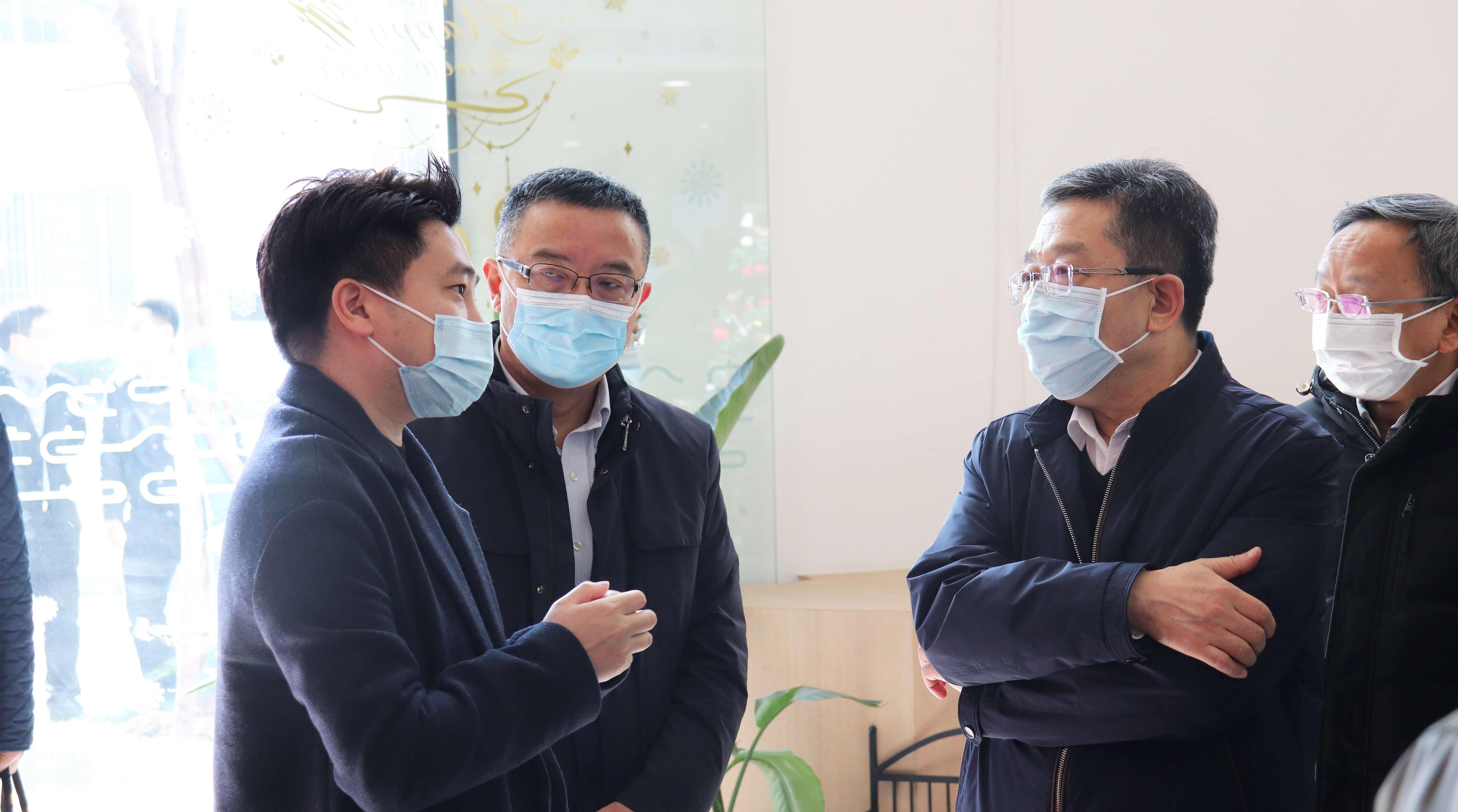 上海市委常委、统战部部长郑钢淼走访数字服务商食亨